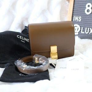Celine SMALL CLASSIC BOX CALFSKIN